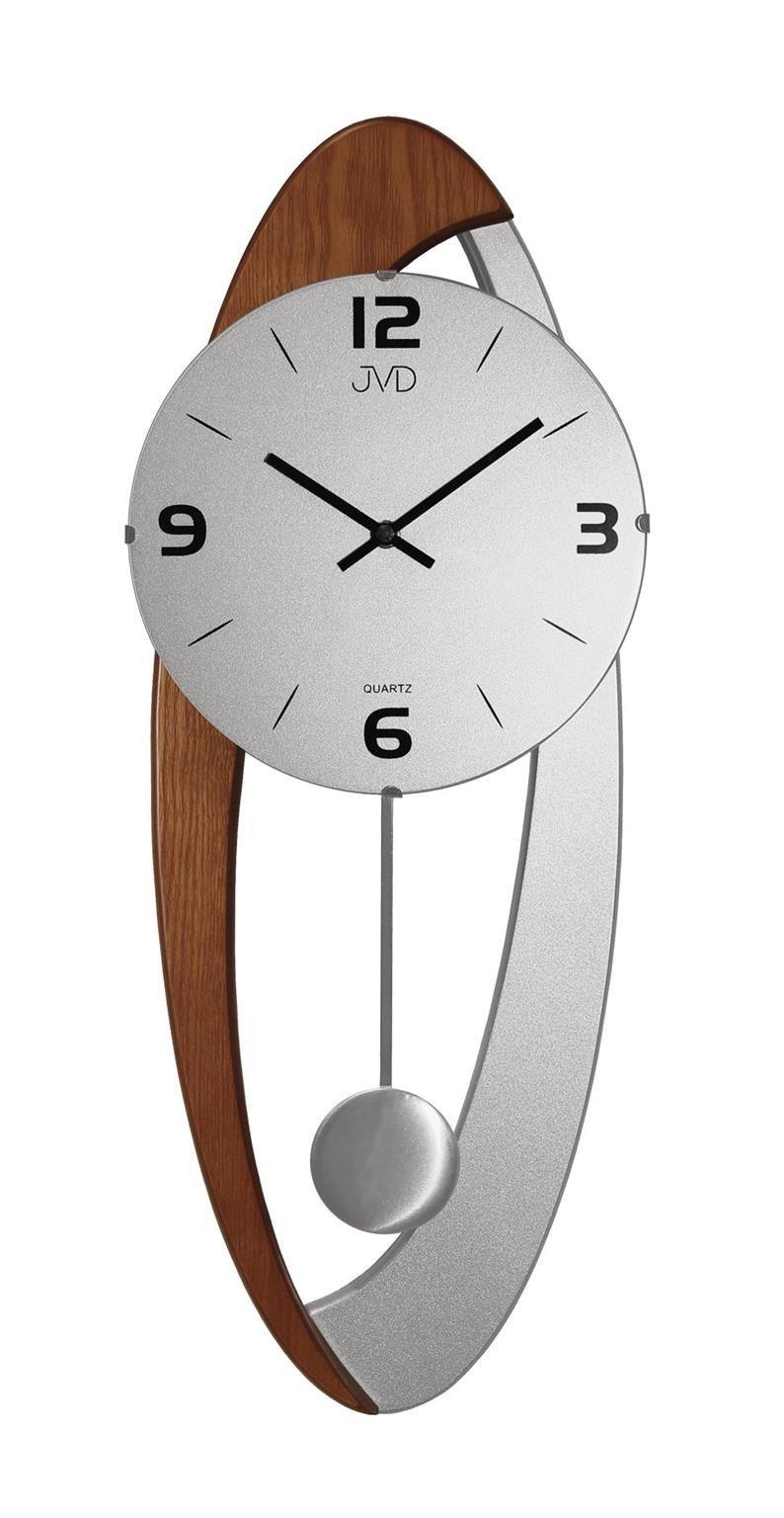 Zegar ścienny Jvd N1502111 Z Wahadłem