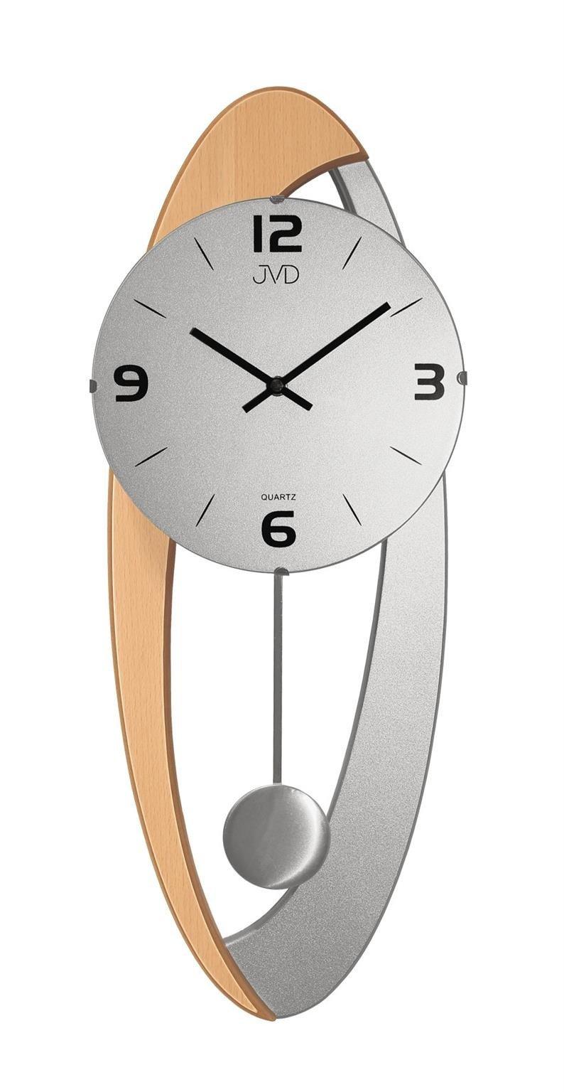 Zegar ścienny Jvd N1502168 Z Wahadłem