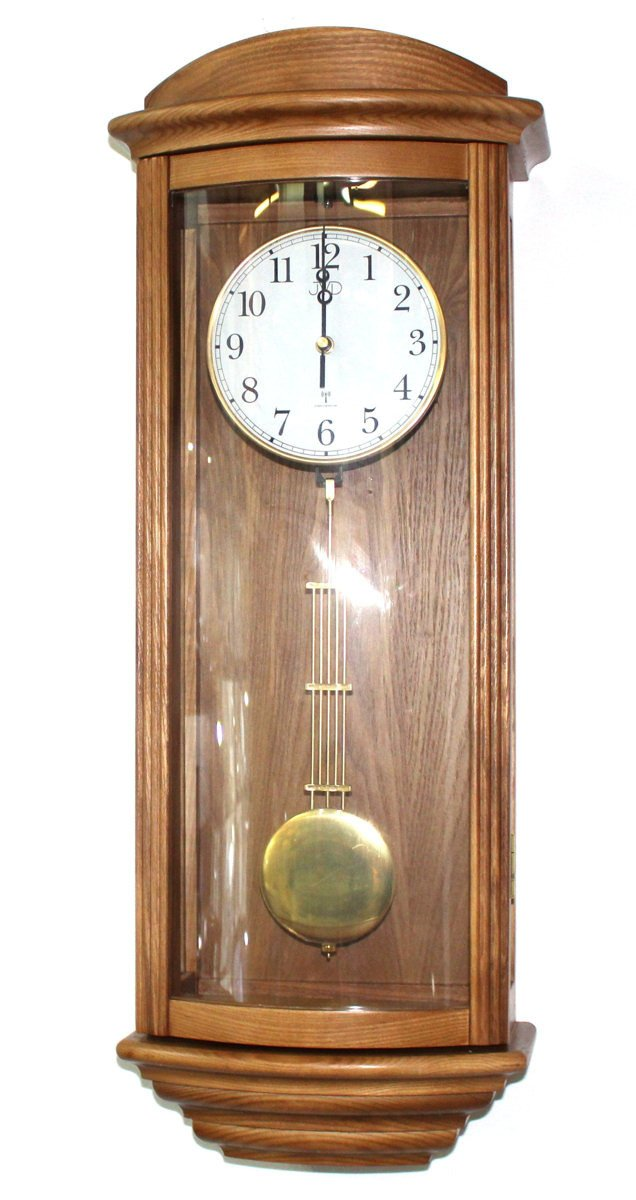 Zegar ścienny Jvd Nr222011 Drewniany Kuranty