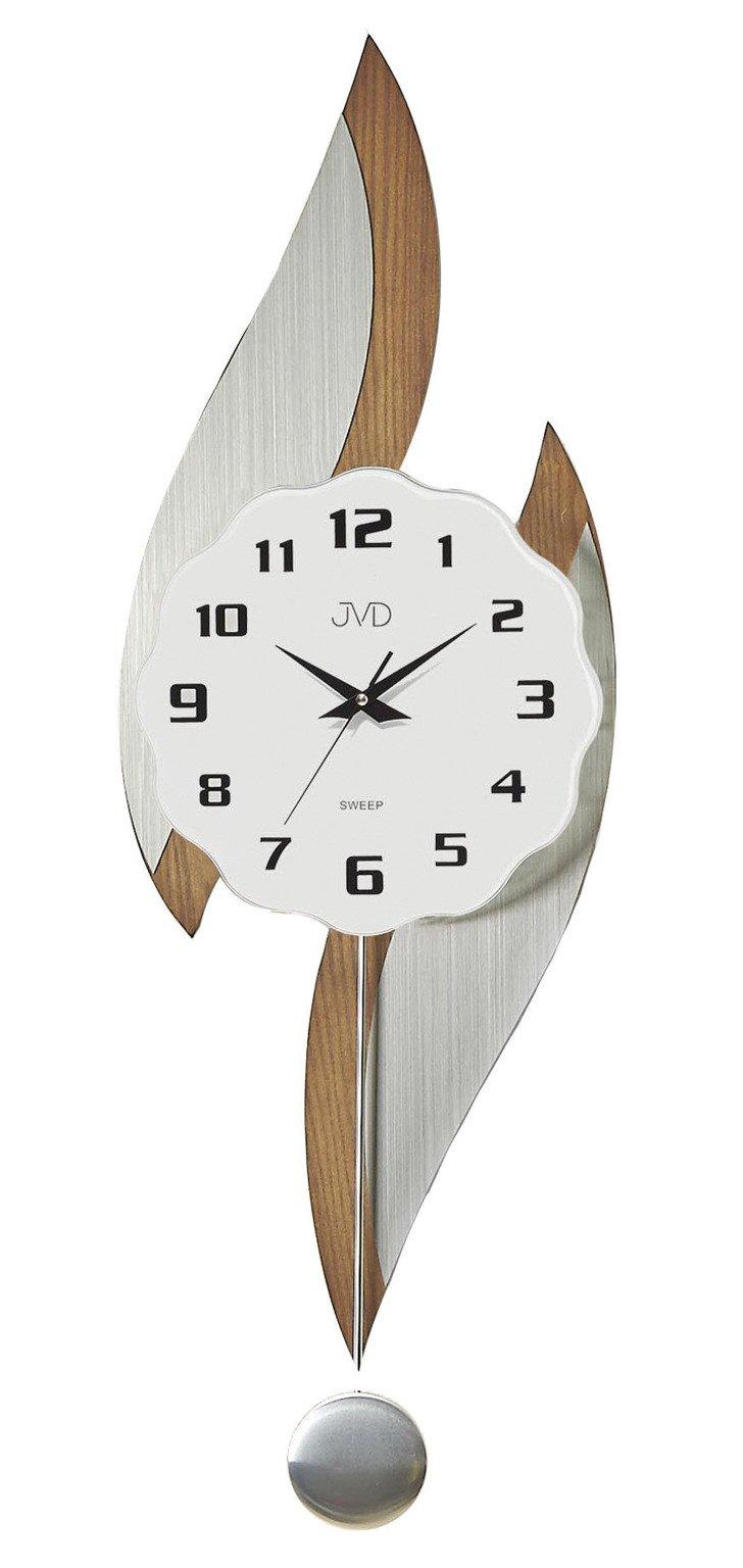 Zegar ścienny Z Wahadłem Jvd Ns1806311 Cichy Mechanizm