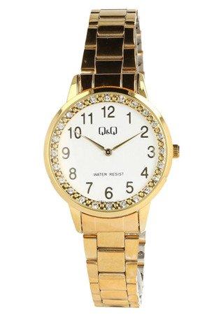 Biżuteryjny zegarek damski Q&Q QB09-004