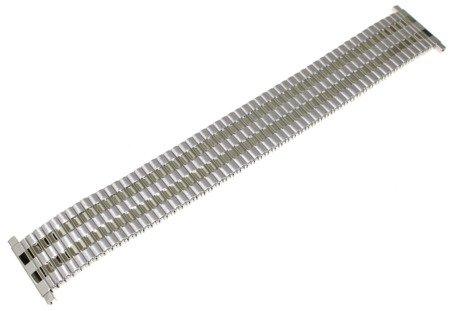 Bransoleta rozciągana do zegarka 20 - 25 mm JVD KT 139-20