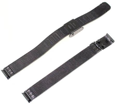 Bransoleta stalowa do zegarka 10 mm Tekla BC3.10 Black
