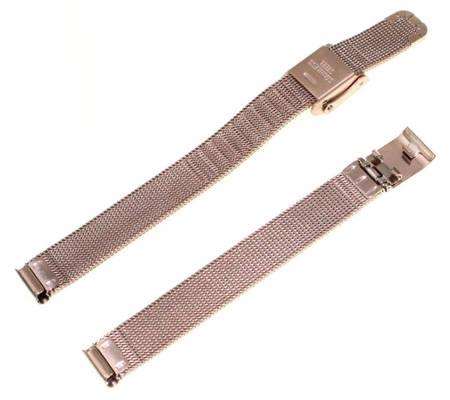 Bransoleta stalowa do zegarka 10 mm Tekla BC4.10 Rose Gold