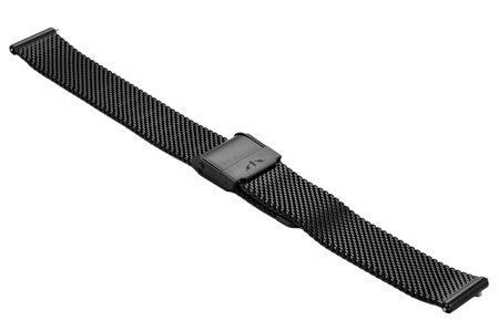 Bransoleta stalowa do zegarka 14 mm Bisset BM-101/14 Black