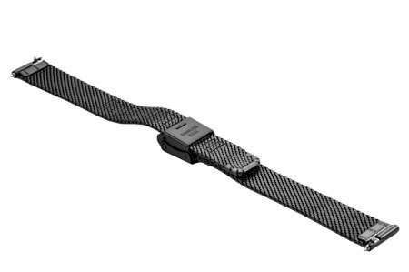 Bransoleta stalowa do zegarka 14 mm Bisset BM-104/14 Black