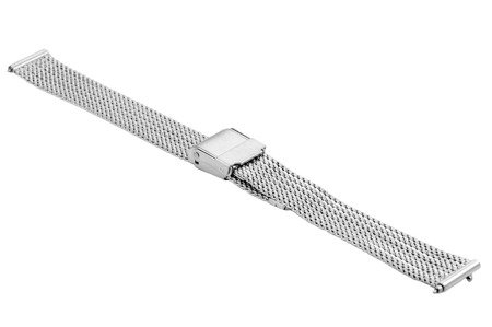 Bransoleta stalowa do zegarka 14 mm Bisset BM-104/14 Silver