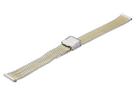 Bransoleta stalowa do zegarka 14 mm Bisset BM-104/14 TT Gold