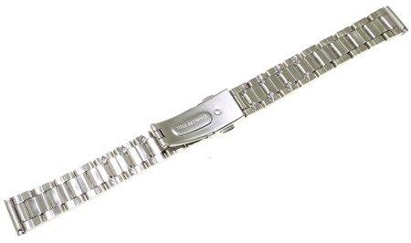 Bransoleta stalowa do zegarka 14 mm Bisset BR14.02 Silver