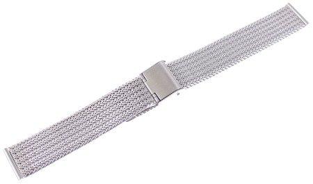 Bransoleta stalowa do zegarka 18 mm Diloy MESHEP-18-0