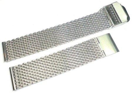 Bransoleta stalowa do zegarka 18 mm Tekla TB18.003.08 Mesh