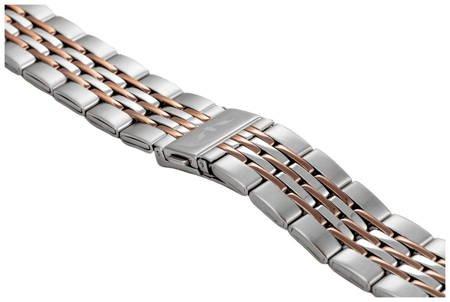 Bransoleta stalowa do zegarka 20 mm BR-110.20 TT Brown