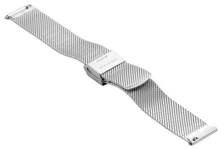 Bransoleta stalowa do zegarka 20 mm Bisset BM-105/20 TT Rose