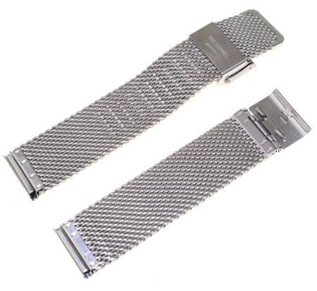 Bransoleta stalowa do zegarka 20 mm Tekla BG1.20 Silver