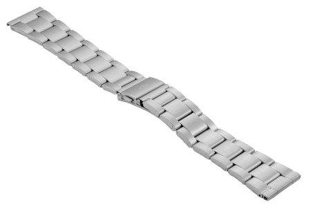 Bransoleta stalowa do zegarka 22 mm BR-120/22 Silver M
