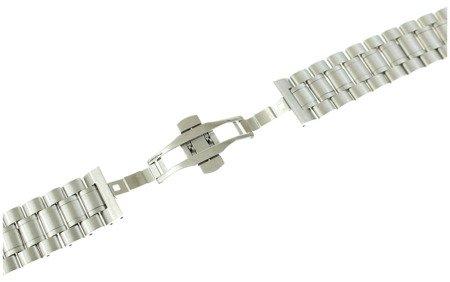 Bransoleta stalowa do zegarka 22 mm Tekla B1.22