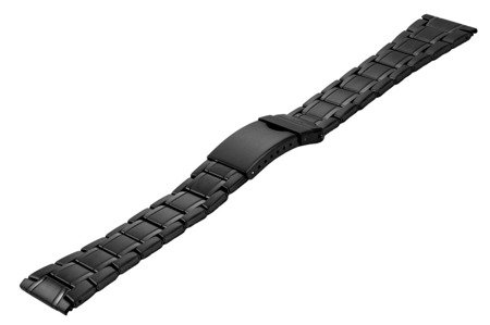 Bransoleta stalowa do zegarka 24 mm BR-122/24 Black