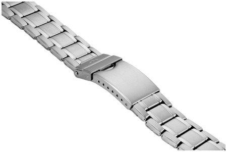 Bransoleta stalowa do zegarka 24 mm BR-122/24 Silver
