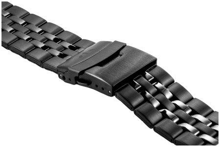 Bransoleta stalowa do zegarka 26 mm BR-123/26 Black
