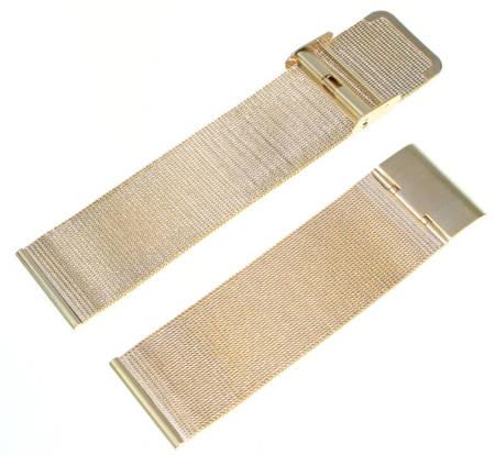 Bransoleta stalowa do zegarka 26 mm Tekla BC2.26 Gold