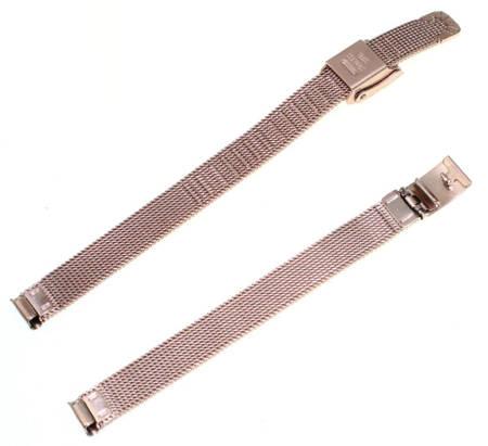 Bransoleta stalowa do zegarka 8 mm Tekla BC4.08 Rose Gold
