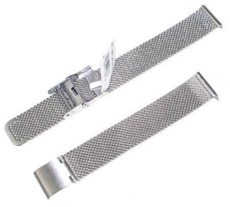 Bransoleta stalowa mesh do zegarka 14 mm JVD KT-MILAN