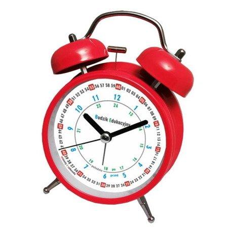 Budzik Atrix ATB045RED Bell Alarm Edukacyjny
