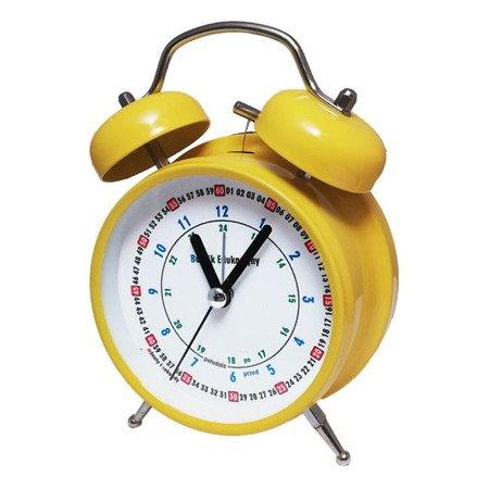 Budzik Atrix ATB045YED Bell Alarm Edukacyjny