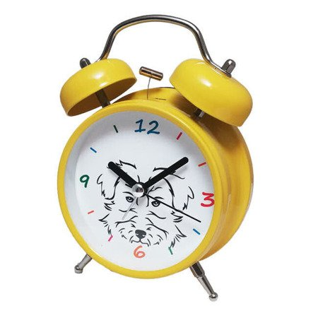 Budzik Atrix ATB045YF Bell Alarm Piesek