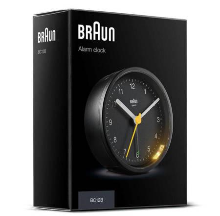 Budzik Braun BC12B