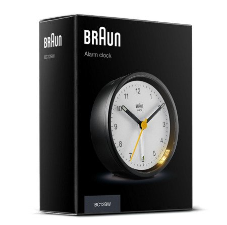 Budzik Braun BC12BW