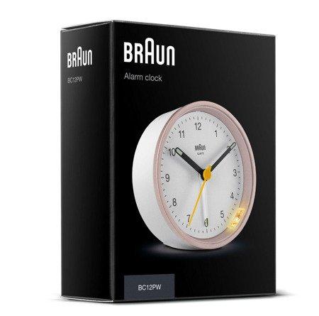 Budzik Braun BC12PW