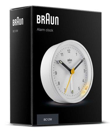 Budzik Braun BC12W