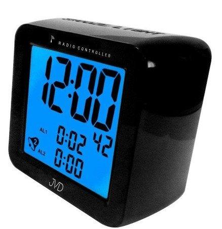 Budzik JVD RB26.1 Dwa alarmy, DCF77