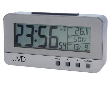Budzik JVD RB91 Termometr DCF77 Dni Tygodnia PL