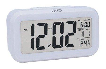 Budzik JVD SB18.1 z termometrem, Sensor Light