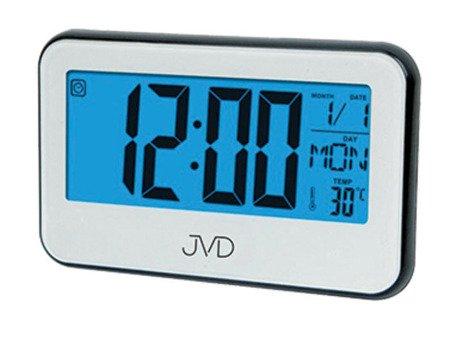 Budzik JVD SB5815.2 z termometrem i minutnikiem, sensor melodie