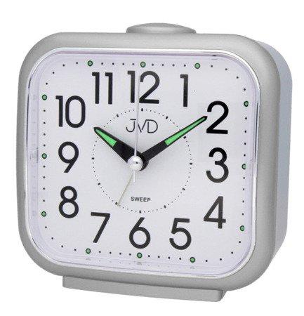 Budzik JVD SRP1309.4 Cichy mechanizm, Bell Alarm