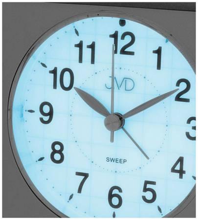 Budzik JVD SRP707.1 z płynącym sekundnikiem