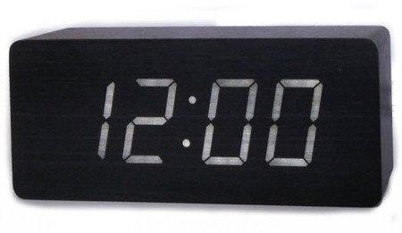 Budzik Xonix GHY-006YK BK WH termometr, 3 alarmy