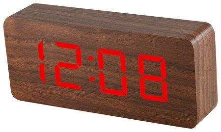Budzik Xonix GHY-015YK BR RED termometr, 3 alarmy