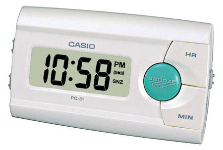 Budzik elektroniczny Casio PQ-31-7EF