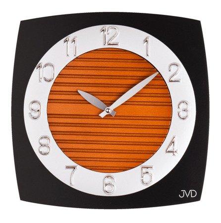 Drewniany zegar ścienny JVD N11043B