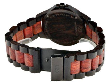 Drewniany zegarek Giacomo Design GD08101 MultiData
