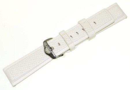 e3afe030f174f1 Kliknij, aby powiększyć; Kauczukowy pasek do zegarka 20 mm HIRSCH 40478800-2 -20