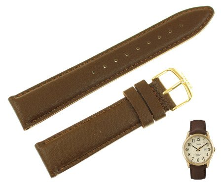 Pasek do zegarka Timex TW2P75800 PW2P75800 20 mm Skóra