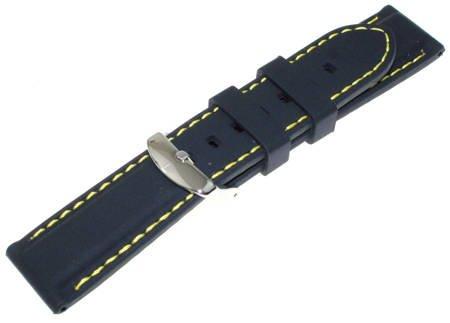 Silikonowy pasek do zegarka 22 mm Tekla S15.22