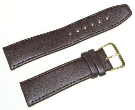 Skórzany pasek do zegarka 22 mm Perfect P22.003.05G