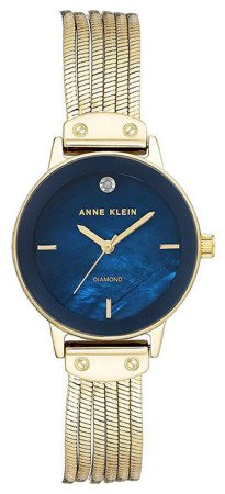 Zegarek Anne Klein AK/3220NMGB Diamond Gold and Blue