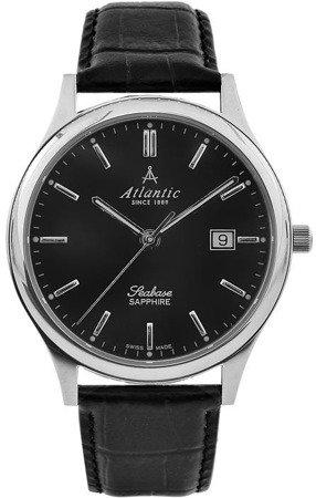 Zegarek Atlantic Seabase 60342.41.61 Szafirowe szkło